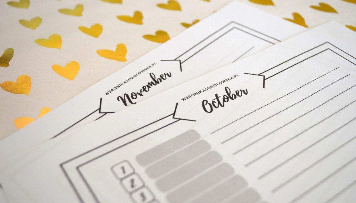 kalendarz do nauki słówek weronika sokołowska